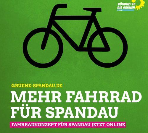 Mehr Fahrrad für Spandau